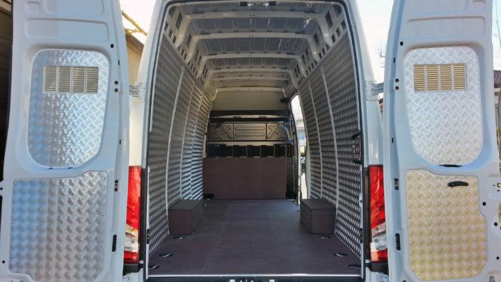 trasporto merci alluminio